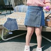 女童牛仔短褲 女童牛仔短褲夏季新款正韓寶寶時尚牛仔褲裙兒童短裙褲子外穿-Ballet朵朵