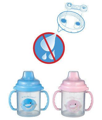 【奇買親子購物網】酷咕鴨KU.KU.- 不滴水訓練杯(藍色/粉色)