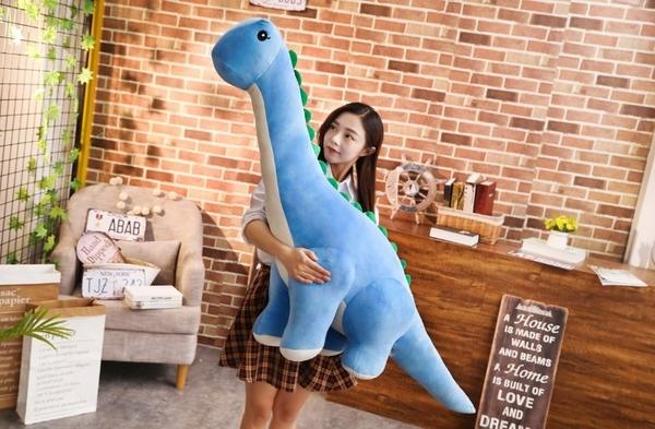 【25公分】長頸龍娃娃 恐龍抱枕玩偶 安撫睡覺玩具 生日禮物 兒童節 聖誕節交換禮物 兒童房布置