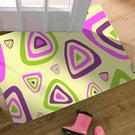 【范登伯格】奧瓦柔亮絲質感地毯-奇巧(紫...