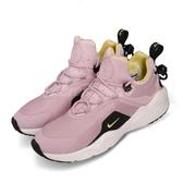 【六折特賣】Nike 休閒鞋 Wmns Air Huarache City Move 粉紅 黑 低筒 女鞋 武士鞋 運動鞋【PUMP306】 AO3172-500