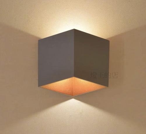燈飾燈具【燈王的店】現代系列 防水型 室內外壁燈 LED 10W壁燈 ☆ HS9017-10W-G