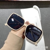 新款韓版個性網紅款超大框方框眼鏡女潮街拍墨鏡大臉顯臉小鏡 設計師生活百貨
