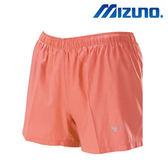 Mizuno 女裝 褲子 短褲  路跑  慢跑  反光LOGO  亮橘紅  【運動世界】J2TB775465