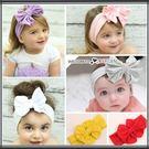 歐美糖果色系大蝴蝶結兒童髮帶 頭飾 髮箍