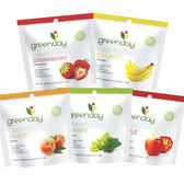 Greenday水果凍乾(5款口味可選: 草莓、水蜜桃、蘋果、香蕉、葡萄) 日華好物