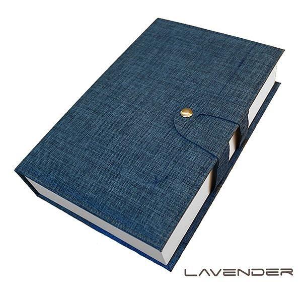 【南紡購物中心】Lavender-經藏書眼鏡收納盒-藍