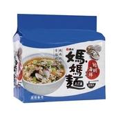 媽媽麵蛤蜊海鮮風味80Gx5【愛買】