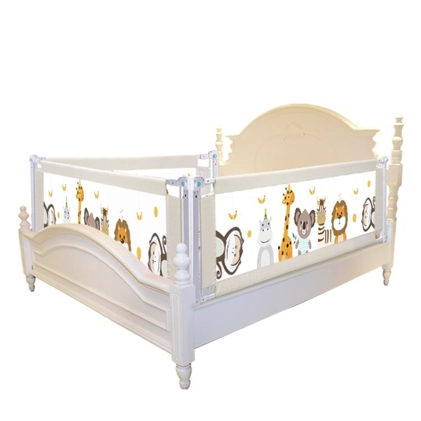 床護欄寶寶防摔床邊床圍欄1.8大床欄桿2米防掉護欄嬰兒童擋板通用 喵可可