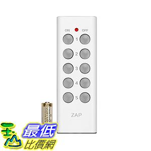 [美國直購] Etekcity 025706346252 5-Channel Remote Control for Outlet Receivers, White (1Tx) 插座遙控接收器