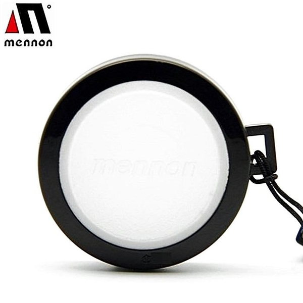 【南紡購物中心】美儂Mennon白色白平衡蓋37mm鏡頭蓋白色WBLCΦ37白平衡鏡頭蓋white balance cap