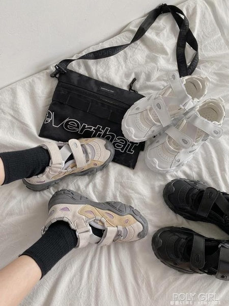 厚底增高透氣休閒運動鞋女新款網紅時尚小白鞋百搭老爹鞋潮 秋季新品