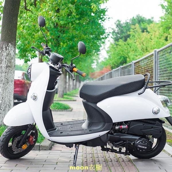 新款電動車電瓶車坐墊套踏板摩托車座套座椅套防水PU皮革四季通用 快速出貨