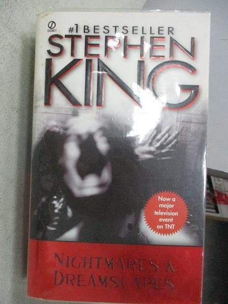【書寶二手書T1/原文小說_MOP】Nightmares & Dreamscapes_Stephen King