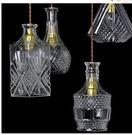設計師美術精品館現代極簡華麗複古酒瓶吊燈...