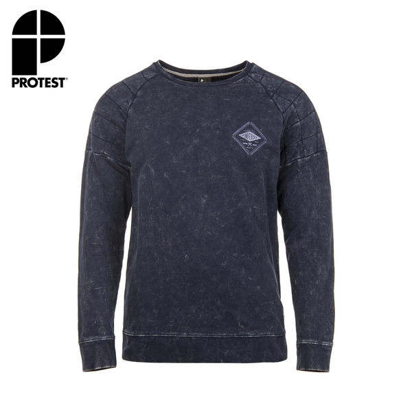 PROTEST 男 保暖上衣 (地表藍) SAINT SWEATSHIRT