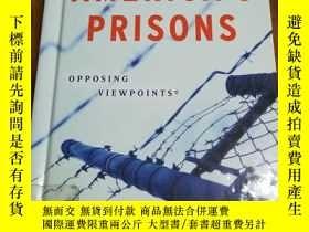 二手書博民逛書店America s罕見Prisons (Opposing Vie