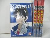 【書寶二手書T2/漫畫書_BF4】KATSU青春交叉點_9~12集間_共4本合售_安達充