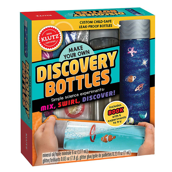 [KLUTZ] Make You Own Discovery Bottles 神奇科學瓶(自然科學/科學瓶原理/課鋼連結)