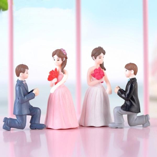 CARMO結婚marry me微景觀(2入組) 盆栽裝飾【A026007】