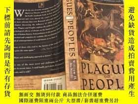 二手書博民逛書店Plagues罕見and Peoples 瘟疫與人,1998英文