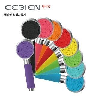 【韓國CEBIEN】十色可選 單段 果凍色蓮蓬頭把手 矽膠握套不易滑手 低水壓適用(PU系列)