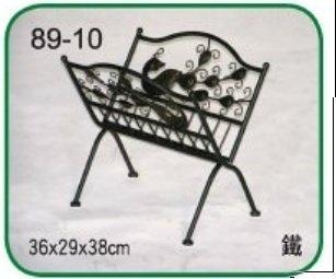 【南洋風休閒傢俱】緞鐵飾品系列-報紙夾B(L89-10 #1204)