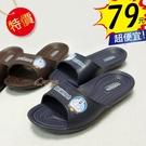 【雨眾不同】庫存出清 哆啦A夢 兒童拖鞋...