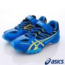【ASICS】運動童鞋-亮色藍流線透氣運動款-664Y-4207藍(中大童)