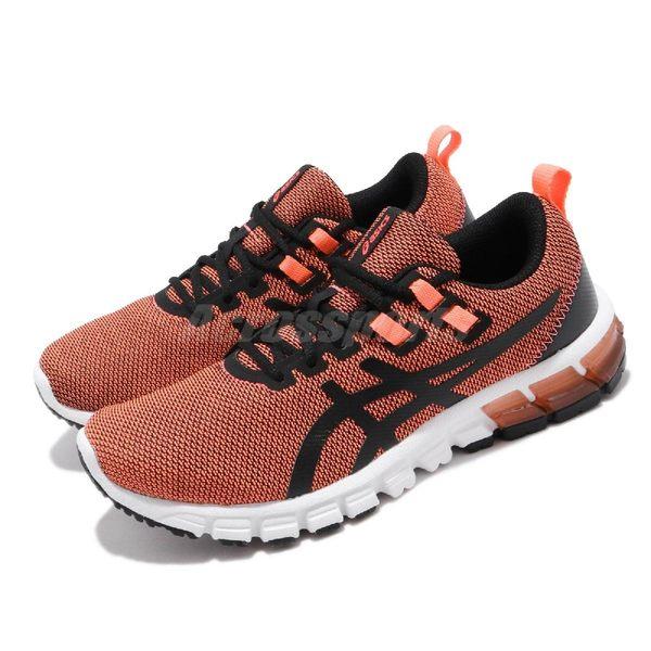 Asics 慢跑鞋 Gel-Quantum 90 MUD 橘 黑 女鞋 運動鞋 亞瑟膠 【PUMP306】 1022A120700