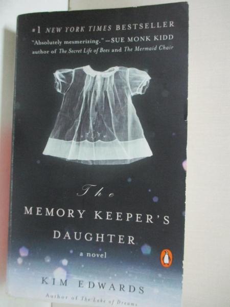 【書寶二手書T4/原文小說_AB1】The Memory Keeper s Daughter