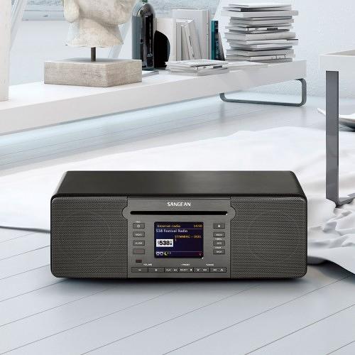 【】山進 Sangean DDR-66BT 數位音響 INTERNET RADIO/DAB+/FM-RDS/BLUETOOTH/CD