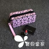 化妝包小號便攜時尚簡約專柜贈品明星同款化妝袋韓國不規則幾何包