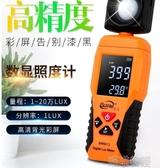 亮度計-速為照度計測光儀亮度測試儀流明表數字光照度計高精度照度儀器 喵喵物語