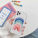 蘋果 SE2 iPhone11 Pro Max XR XS MAX iX i8+ i7+ 彩色蠟筆 手機殼 可掛繩 全包邊 保護殼