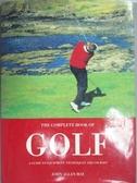 【書寶二手書T9/體育_QNB】The Complete Book of Golf_John Allan May