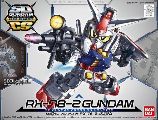 鋼彈模型 BB戰士 SD CS RX-78-2 初代鋼彈 骨架 0079一年戰爭 TOYeGO 玩具e哥