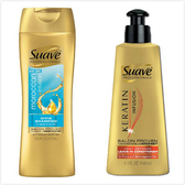 美國 SUAVE【摩洛哥油】洗髮精(373ml)*6+角蛋白護髮霜*1