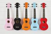 彩色ukulele尤克里里初學者四弦小吉他烏克麗麗夏威夷琴卡通同款
