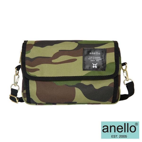 【anello日本銷售量NO.1】2WAY隨身側背包-綠迷彩(AT-H0431CAM)