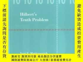 二手書博民逛書店Hilbert s罕見10th Problem (foundations Of Computing)Y2562