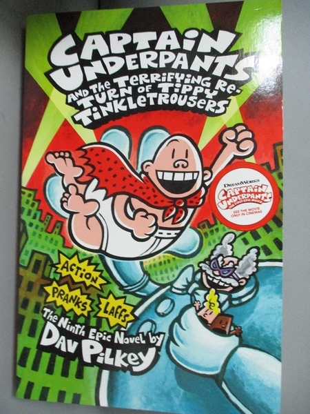 【書寶二手書T4/原文小說_KPO】Captain Underpants and the Terrifying Retu