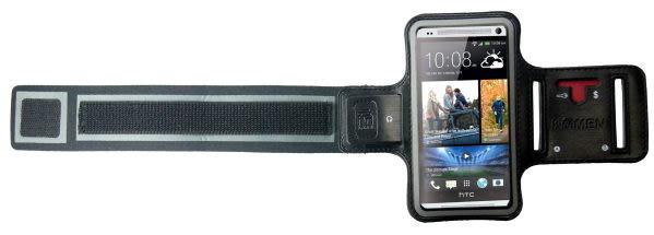 路跑KAMEN Xction 甲面 X行動The new HTC One M7 16G 32G 64G專用運動臂套HTC One mini 運動臂帶 運動手機套