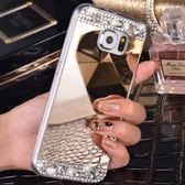 [24hr 火速出貨] note 手機殼 奢華 鏡面 水鑽 note3 手機殼 note4 手機殼 矽膠 鏡面 奢華 華麗