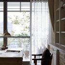 窗簾    簡約現代定制純色落地窗窗簾成...