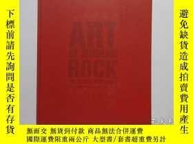 二手書博民逛書店8開英文原版《Art罕見of Modern Rock:The Poster Explosion》(現代搖滾藝術:海