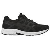 Asics 亞瑟士 女慢跑鞋  GEL-CONTEND 4 (黑白) 黑白鞋 學生鞋 T765N-001 【胖媛的店】
