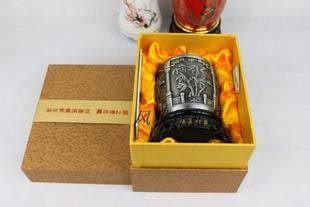 梅蘭竹菊 炭雕筆筒 創意時尚 碳雕 工藝品 辦公桌用品父親節禮物