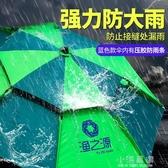 釣魚傘2.6米萬向防雨暴雨釣傘2.4大加厚防曬雨傘雙層遮陽傘CY『小淇嚴選』