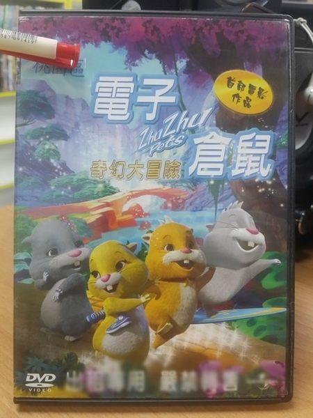 挖寶二手片-B02-008-正版DVD*動畫【電子倉鼠奇幻大冒險】-國語發音-風行歐美玩具Zhu Zhu Pets
